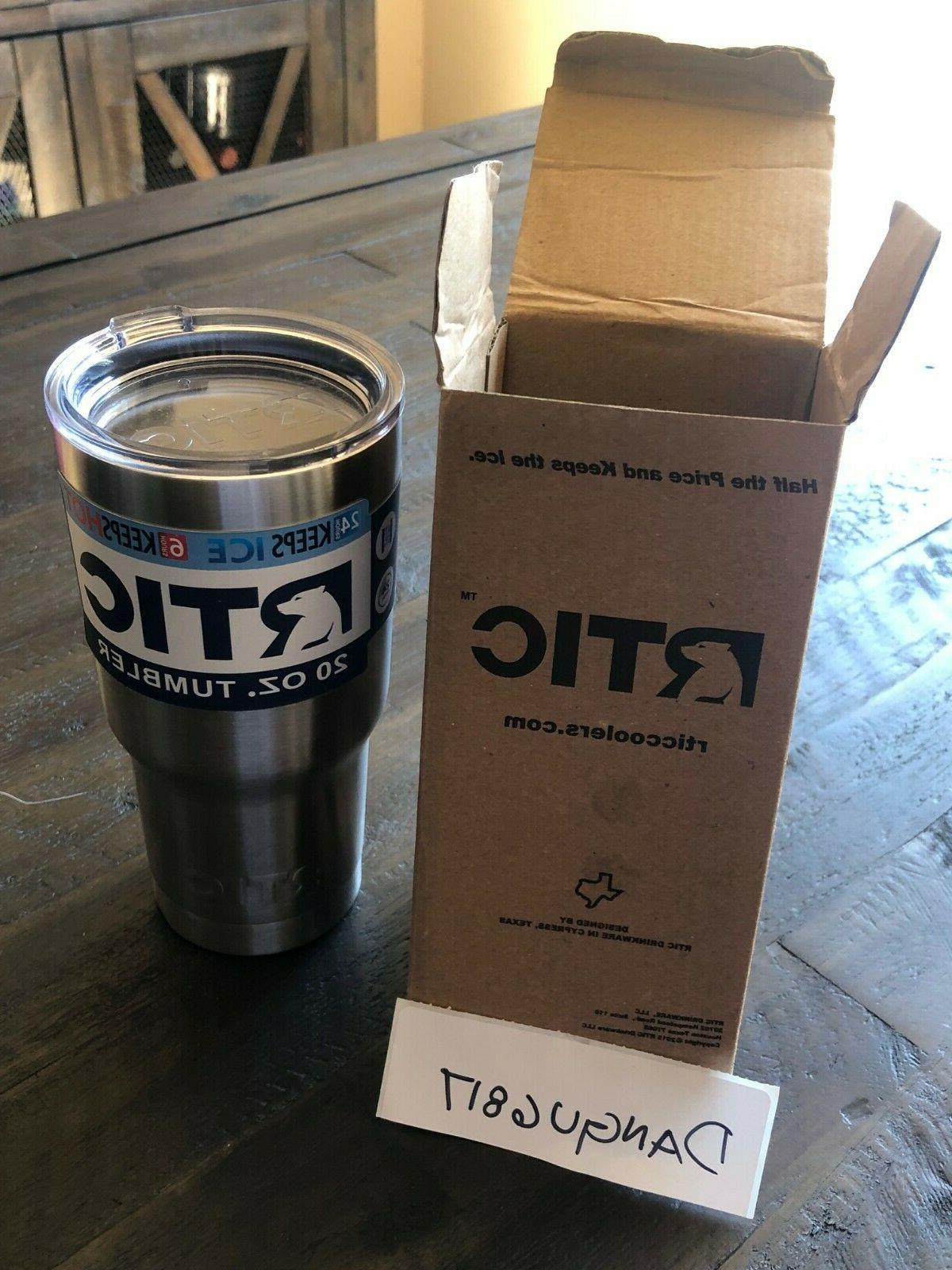 new 20oz tumbler stainless steel fast shipping