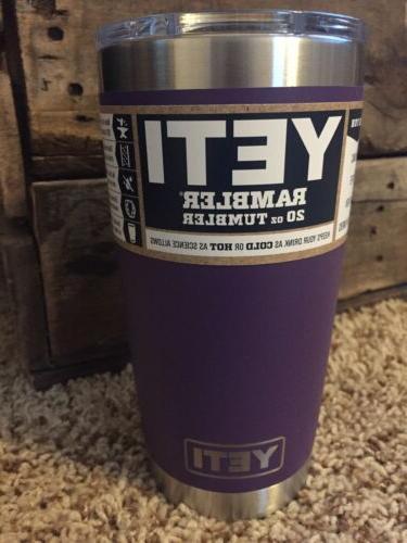new authentic peak purple 20 oz tumbler