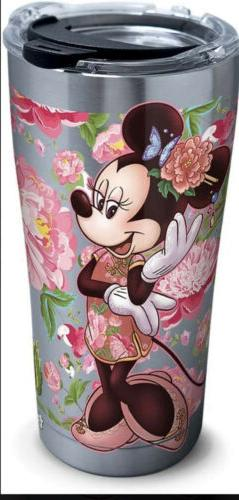 NEW Disney Minnie Mouse Chinese Tervis Tumbler 20 Oz Stainle