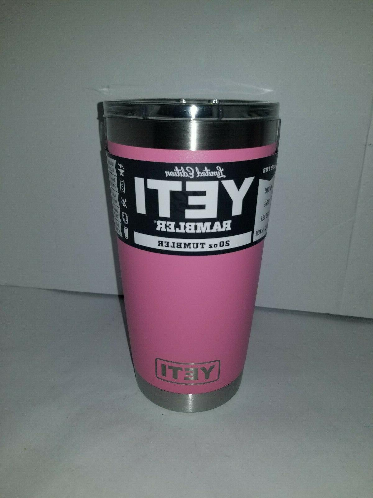 new limited edition harbor pink 20 oz