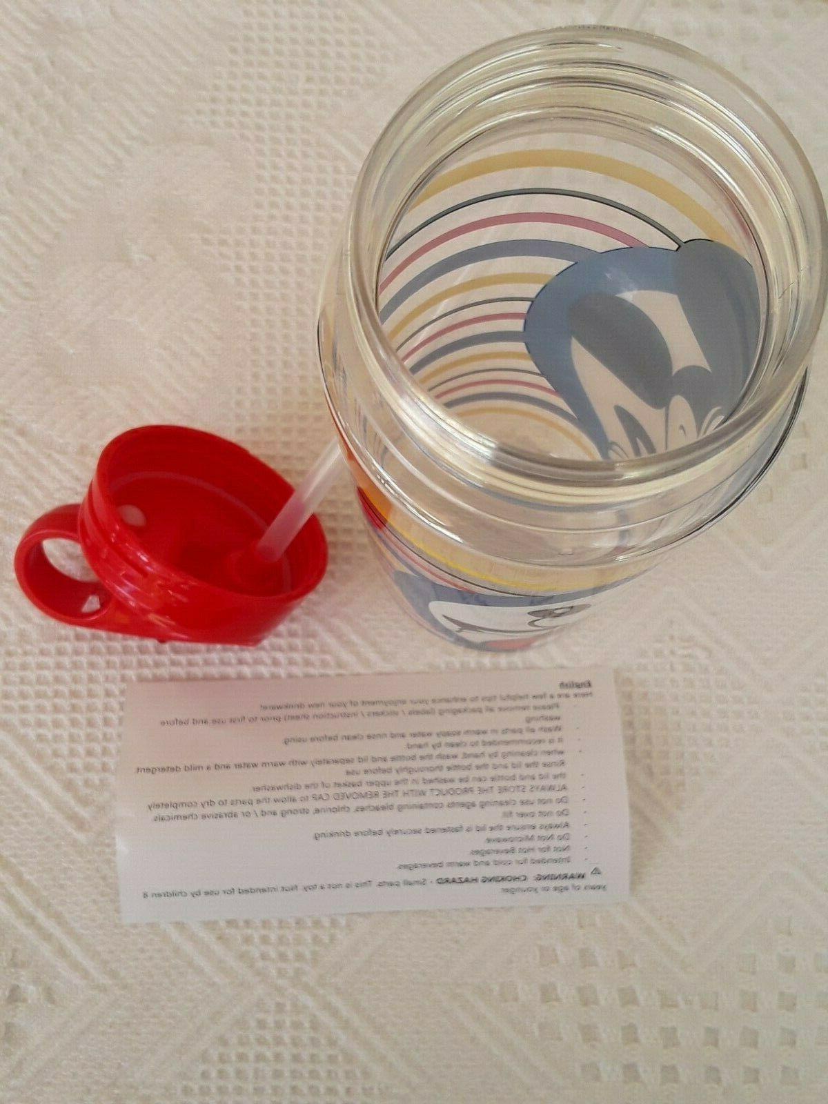 New Stripes 20 oz. Water Bottle BPA Icon