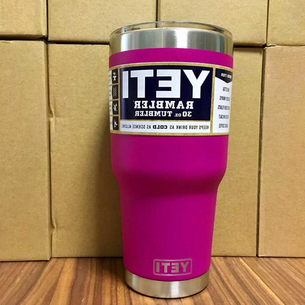 30oz Yeti Rambler Tumbler Steel Tumbler Cup with Seller