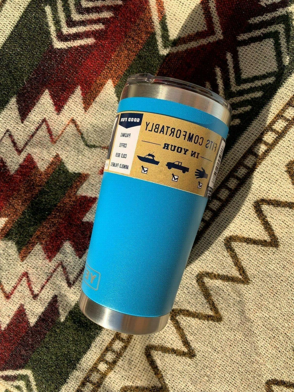 NEW! Yeti Rambler oz *Blue* Tumbler SHIPPING!!