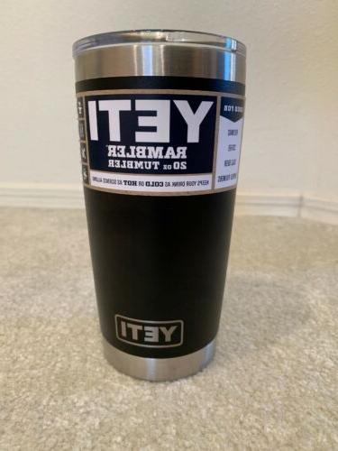 new rambler 20 oz insulated tumbler stainless