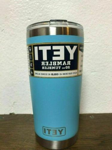 NEW 20 OZ Stainless Cup YETI - COLOR!! -