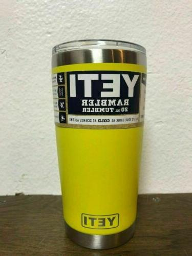 NEW 20 Stainless Cup YETI - COLOR!!