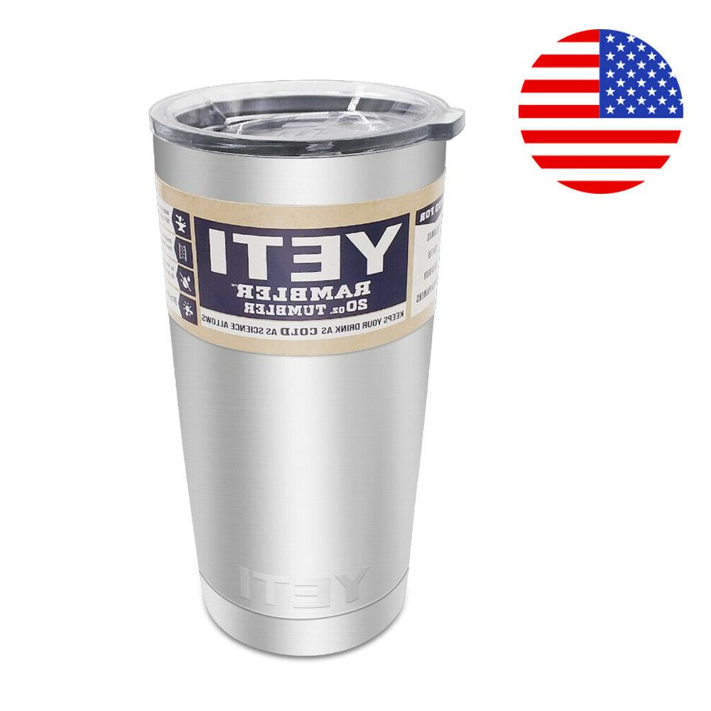 new rambler 20oz tumbler with basic lid