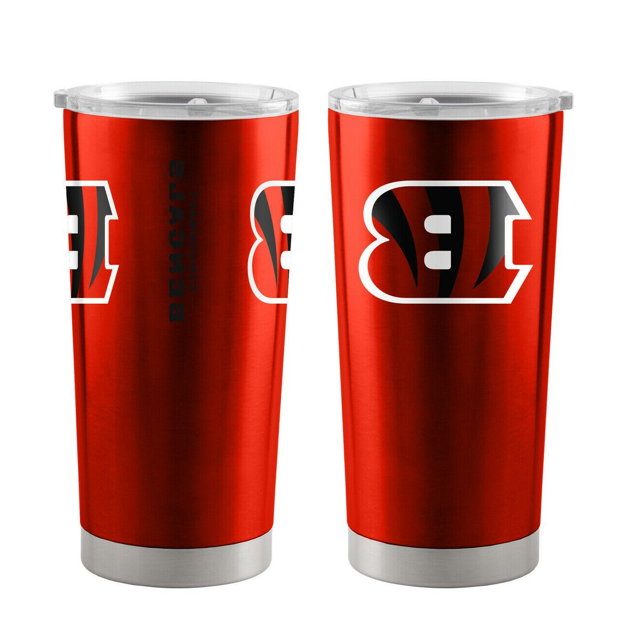 NFL Cincinnati Bengals Travel Tumbler - 20 oz Ultra by Boelt