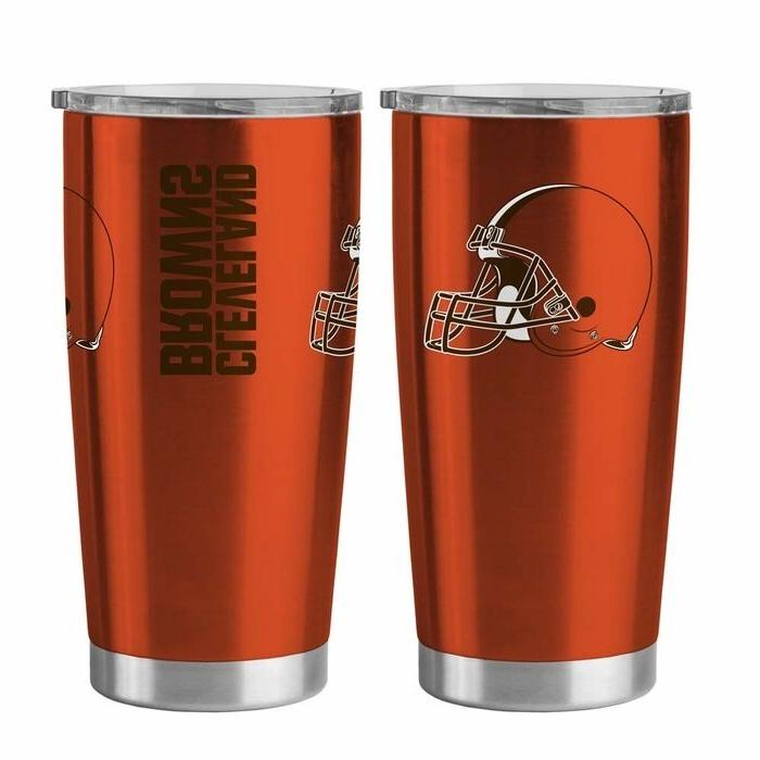 NFL Cleveland Browns Travel Tumbler - 20 oz Ultra by Boelter