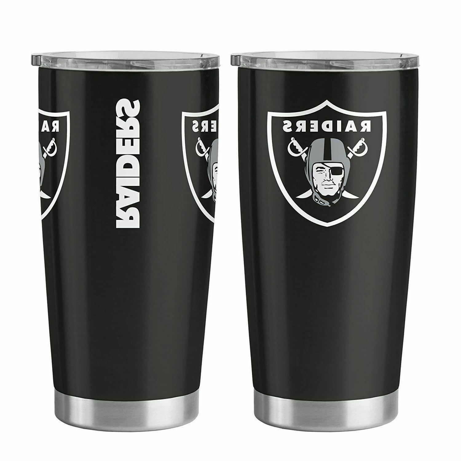 nfl oakland raiders 20 oz ultra travel