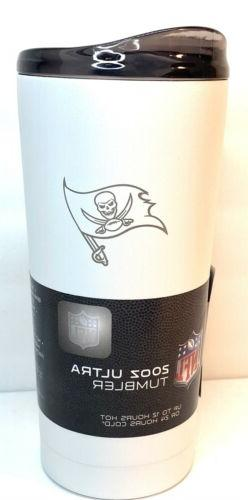 NFL Tampa Bay Buccaneers White Ultra Insulated Tumbler 20oz.