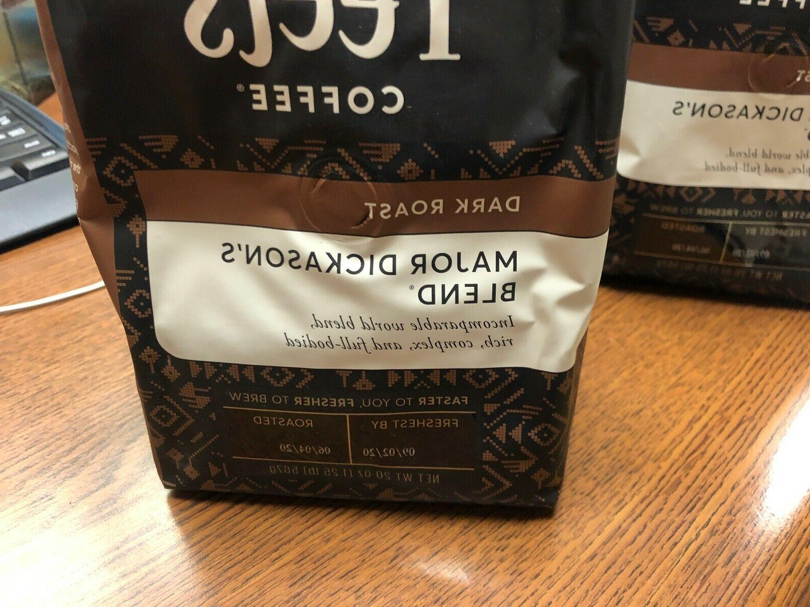 Peets Coffee Major Blend Pre 20 oz Lot 2 BB 9/2/2020
