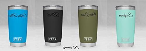 Personalized Engraved Rambler 20 oz Yeti - 30 oz - Personalized Gift - Yeti - Yeti Tumbler - Yeti Cup …