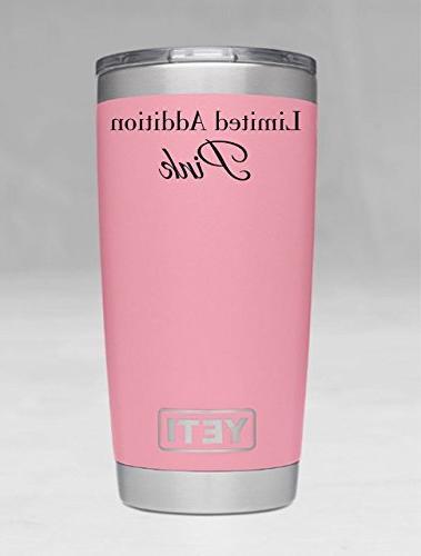NEW PINK YETI ADDITION Personalized Tumbler - Rambler - Yeti 30 Yeti - Yeti - - Laser Yeti Cup