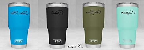 NEW PINK ADDITION Personalized Tumbler - Engraved Yeti - 30 Yeti - Yeti Laser Engraved Yeti Yeti