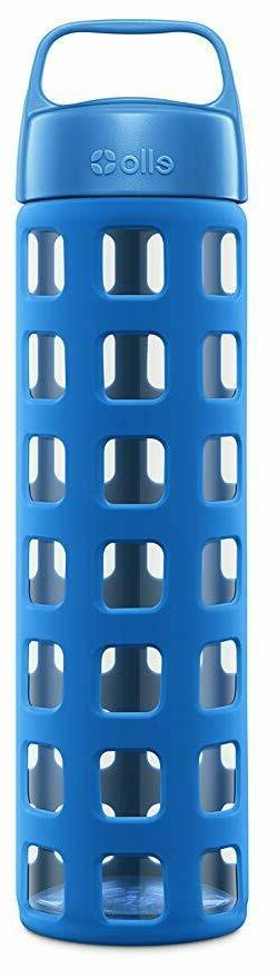 Ello Pure BPA-Free Glass Water Bottle with Lid, 20 oz  Dishw