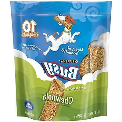 purina chewnola dog treats