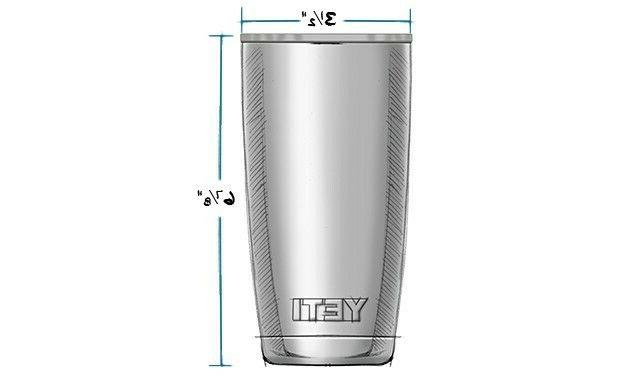 Yeti Rambler 20 Stainless Steel Cup w/LID