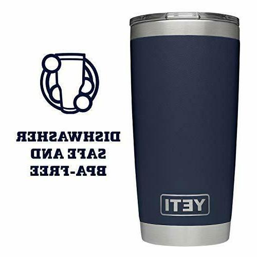 Yeti Rambler Steel Vacuum Insulated Cup w/LID