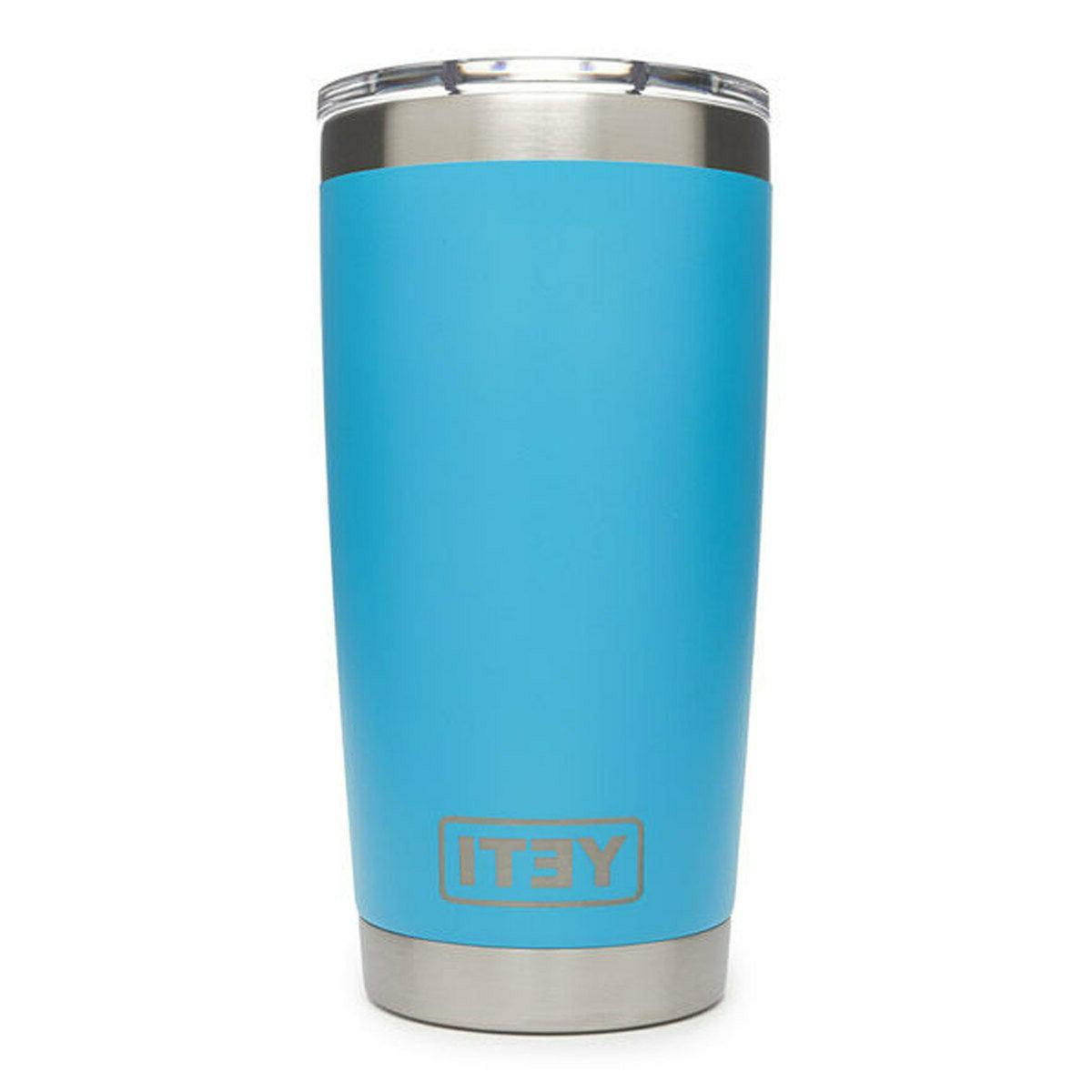rambler 20 oz stainless steel tahoe blue