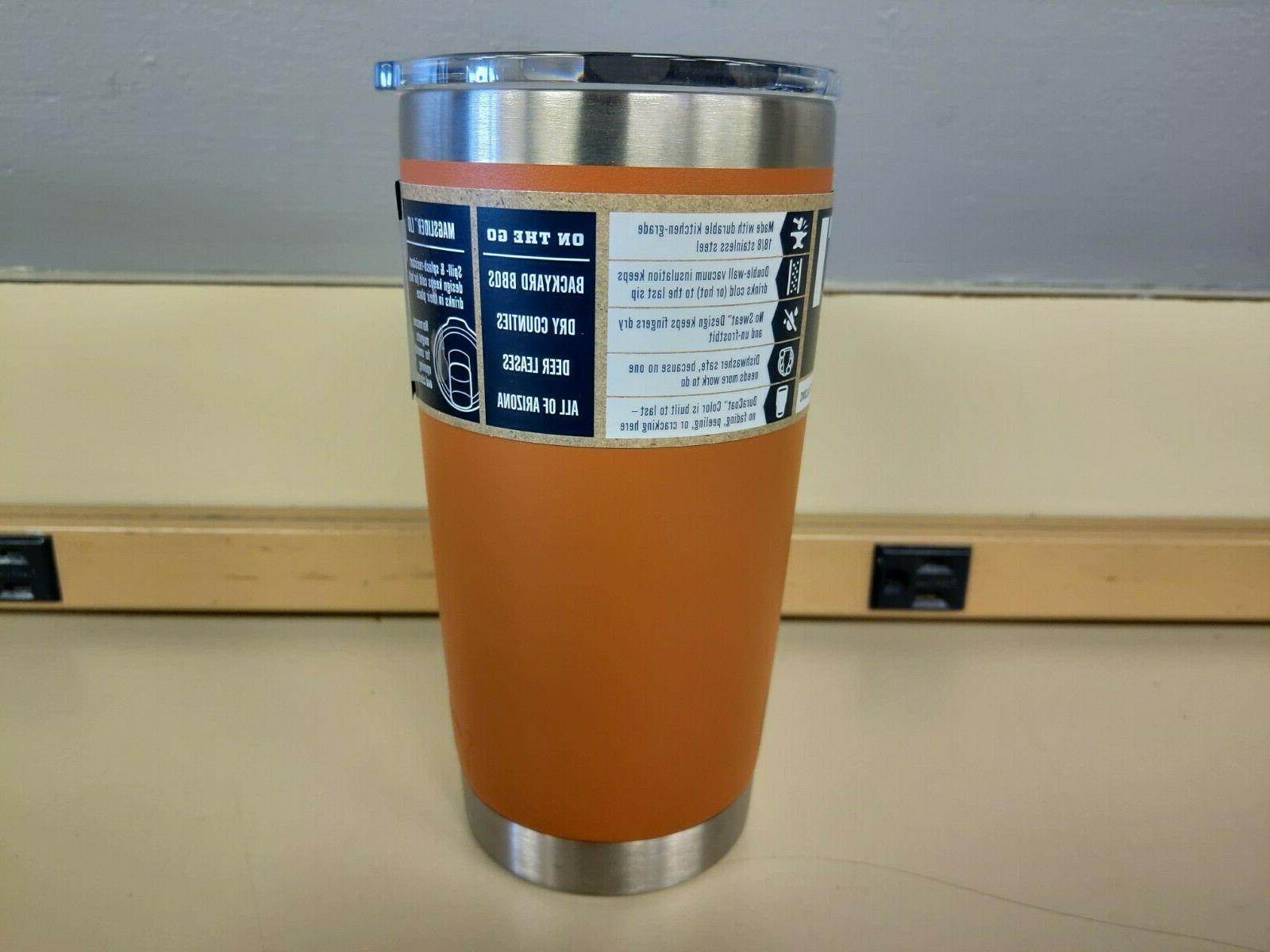 Insulated Tumbler w/ Lid READ