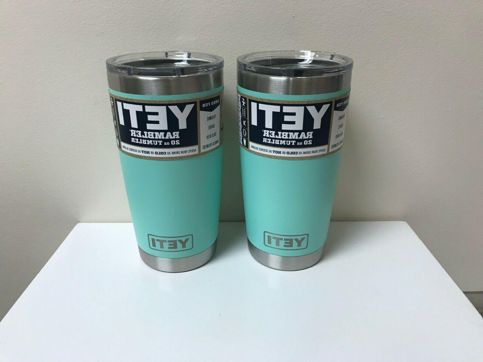 rambler 20oz tumbler seafoam set of 2