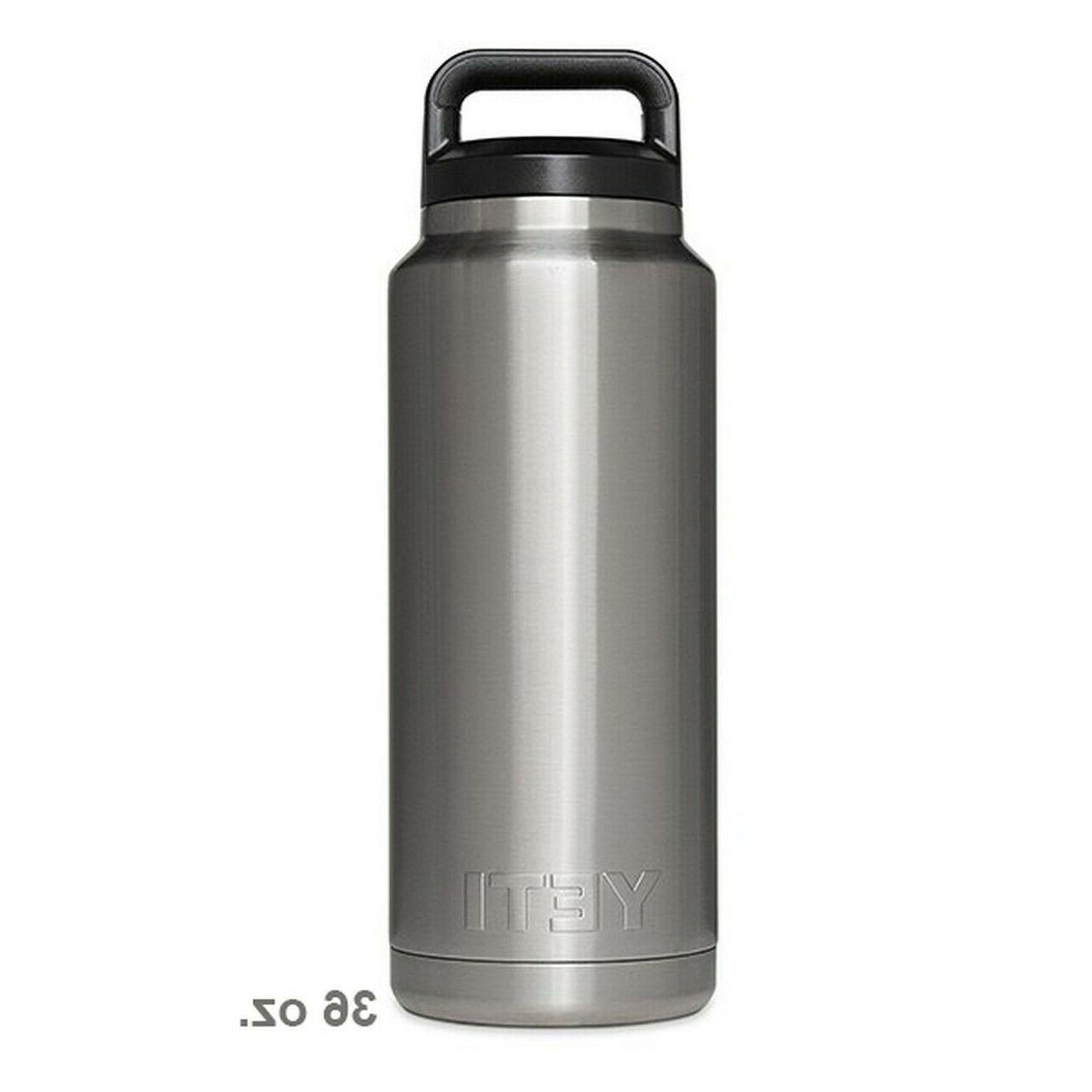 rambler 36oz stainless steel vacuum insulated bottle