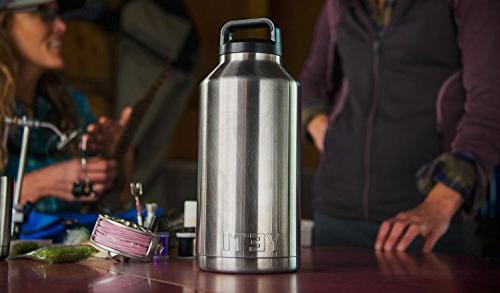 64 oz Stainless Bottle with Lid Free Shipping!