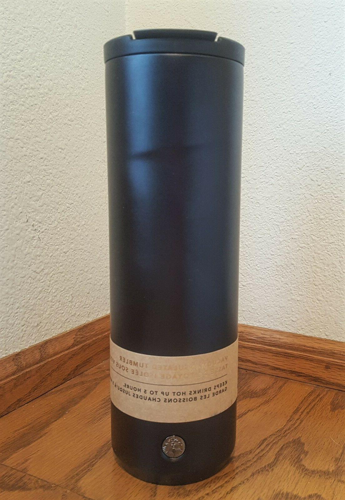 Rare oz Starbucks Stainless Tumbler - Black!
