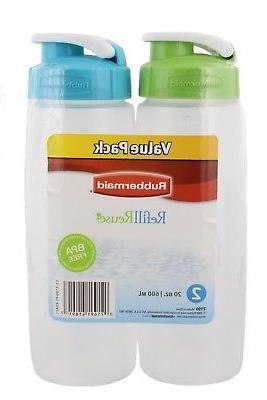 Rubbermaid Refill Water 20oz, &