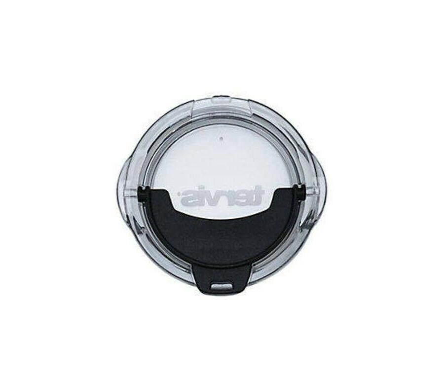 Tervis Replacement Lid, Black Hammer Clear Stainless Steel 1
