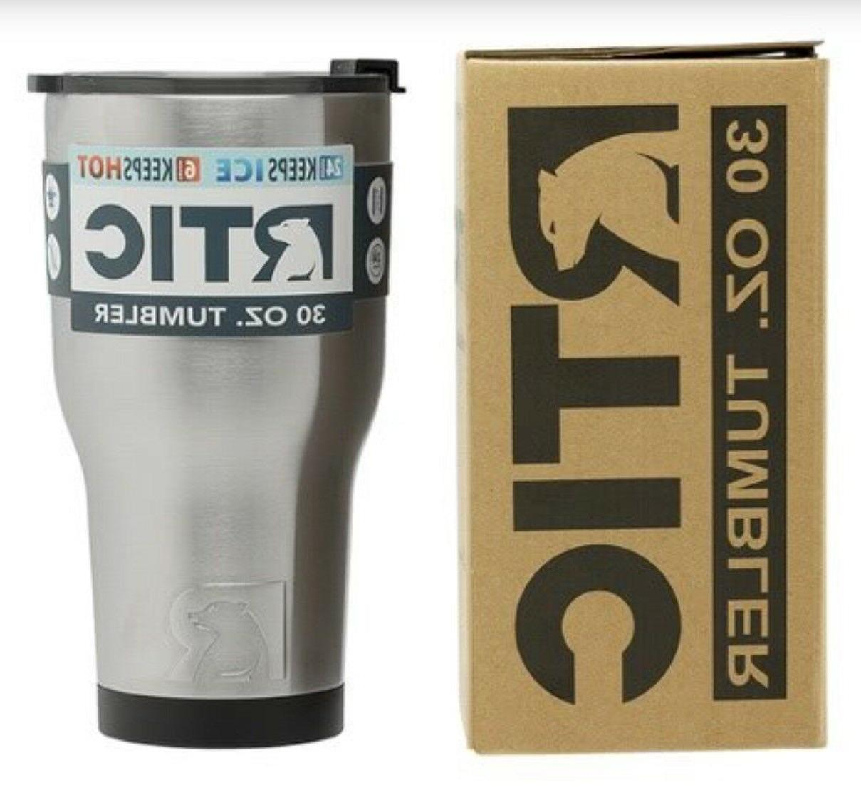 RTIC 30oz Steel Tumbler with 2018 lid