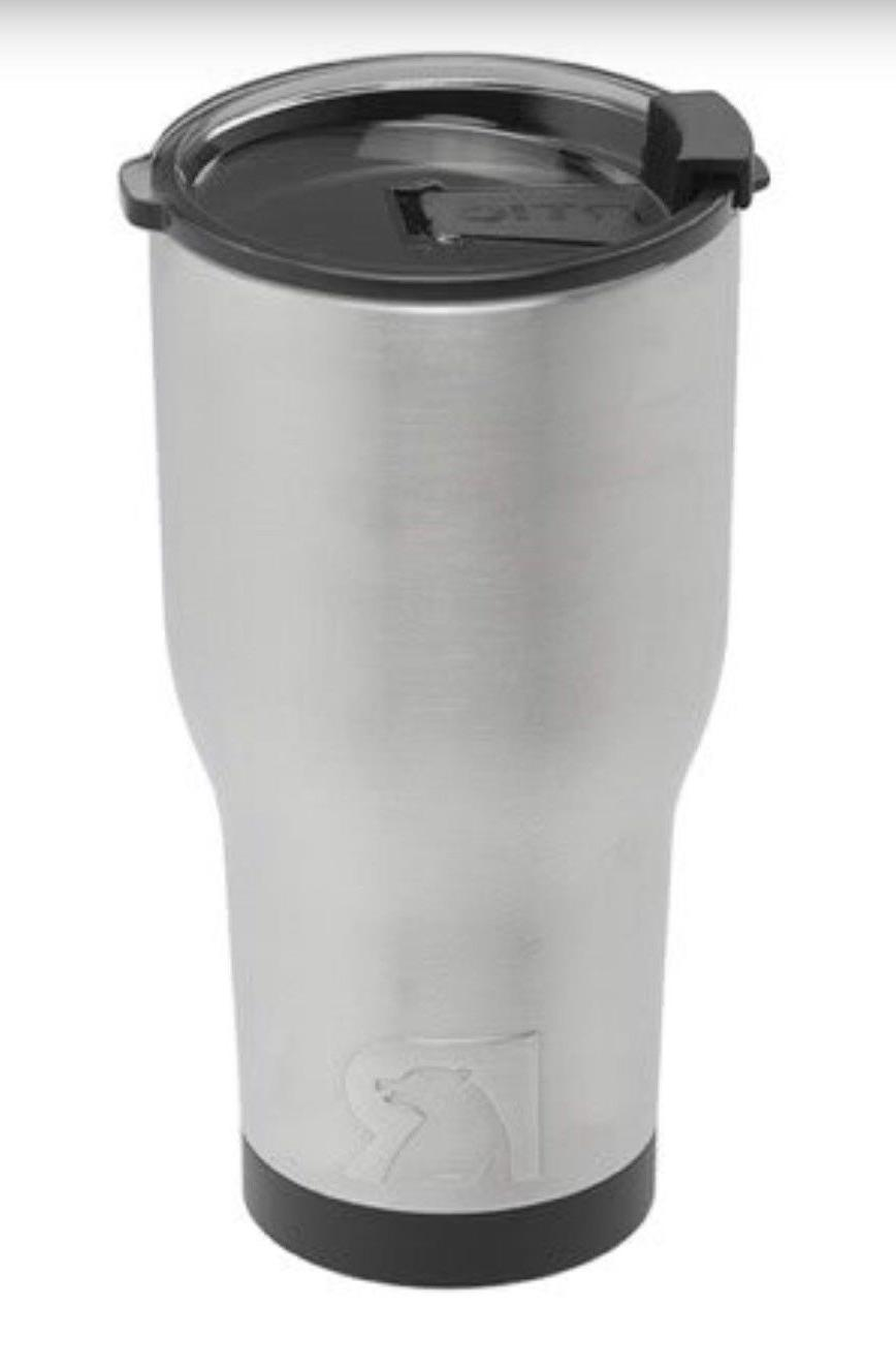RTIC 30oz Steel with lid