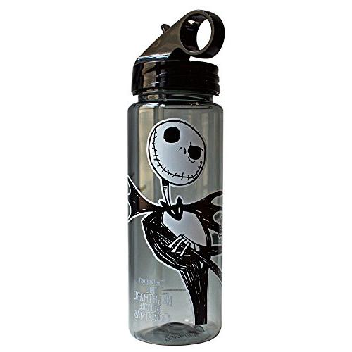 Silver Buffalo NB1664 Nightmare Skellington Tritan Water 20-Ounces