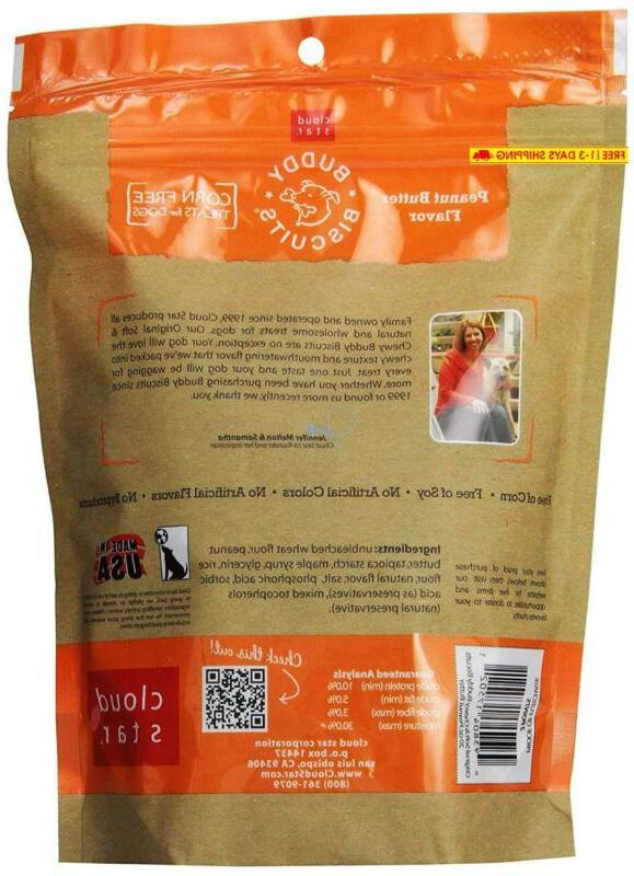 Buddy Chewy Dog Treats With All Peanut 20 Oz