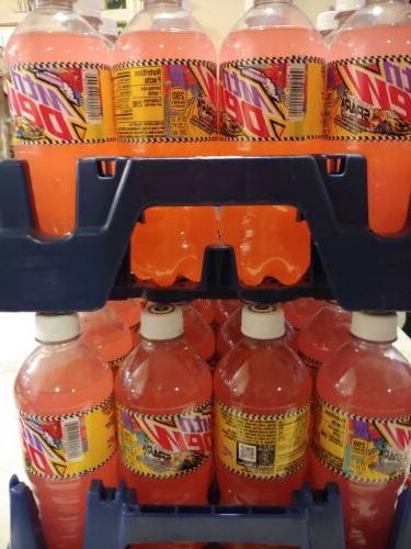 Mountain Dew bottles. Lemonade