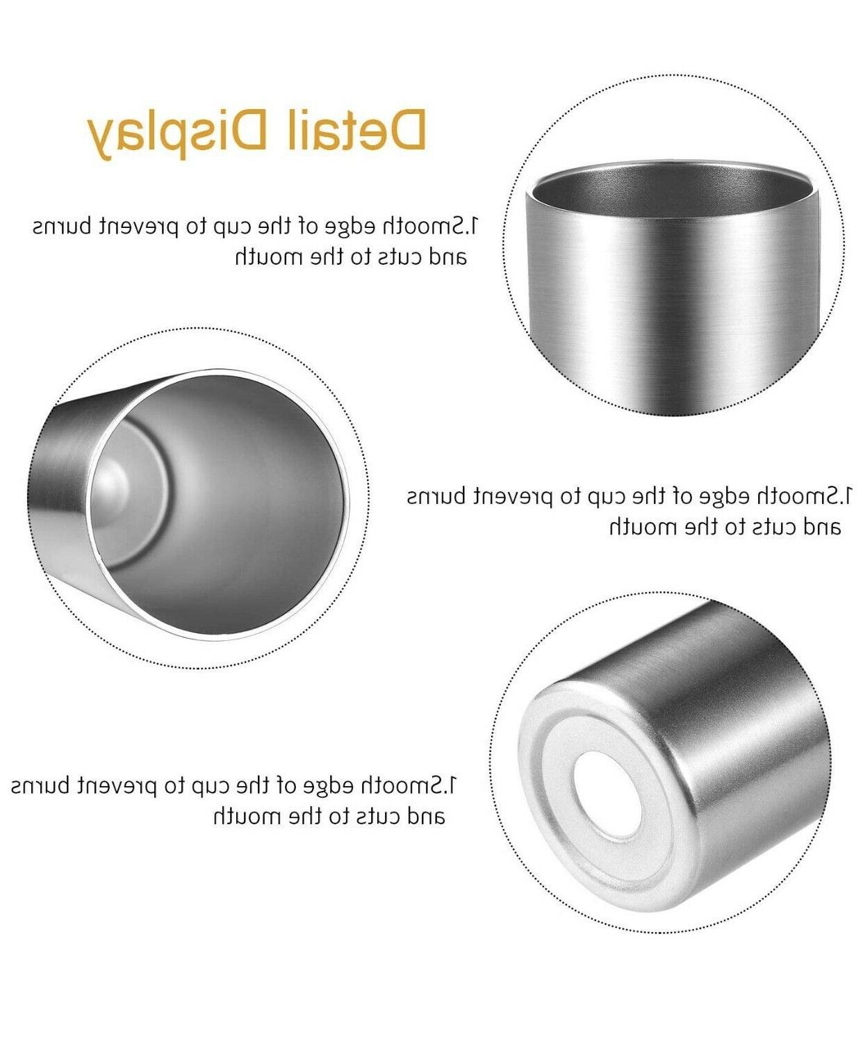 Stainless steel skinny tumbler double wall with and