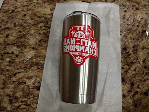 Stainless Steel 20 Oz. Wall Insulated Keeps Ice DAYS! Competitors YETI! of Grade 18/8 Stainless Steel - 20 Oz