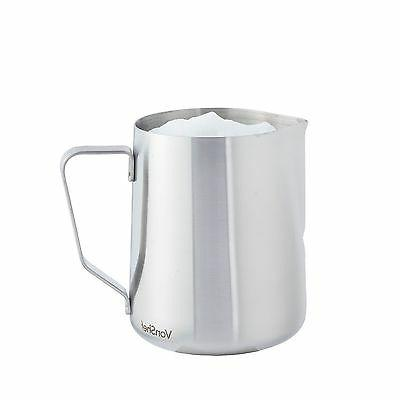 VonShef Stainless Steel Milk Frothing Frother Pitcher Jug -