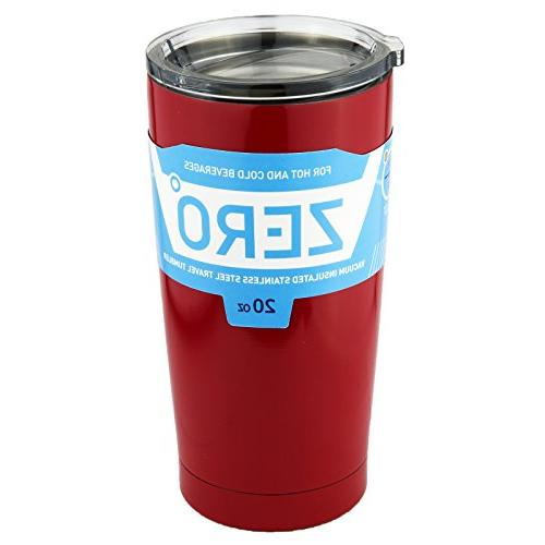Stainless Steel Tumbler Lid, Double Vacuum Insulated Travel Hot and Cold by
