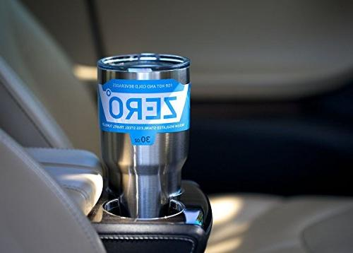 Stainless Tumbler Lid, Vacuum Hot and Cold by