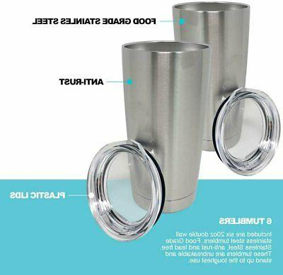 Stainless Tumblers Bulk 20oz Double Wall Insulated
