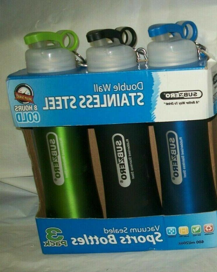 stainless steel vacuum bottles rubberized