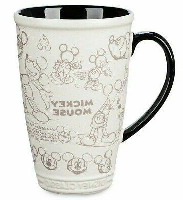 Disney Store Disney MICKEY MOUSE Ceramic Latte Ship