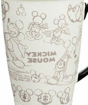 Disney Classic MICKEY Ceramic Latte Mug Air Ship