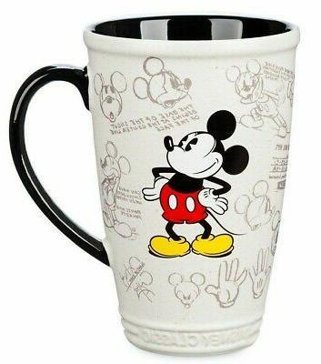 store classic mickey mouse ceramic latte mug