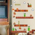 Super Mario Wall Art Decal Sticker Kid Boy Nursery Game Room
