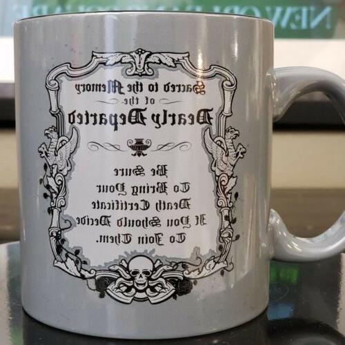 Disney The Haunted Hitchhiking Ghost Ceramic 20oz Mug