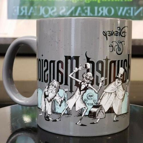 the haunted mansion hitchhiking ghost ceramic 20oz