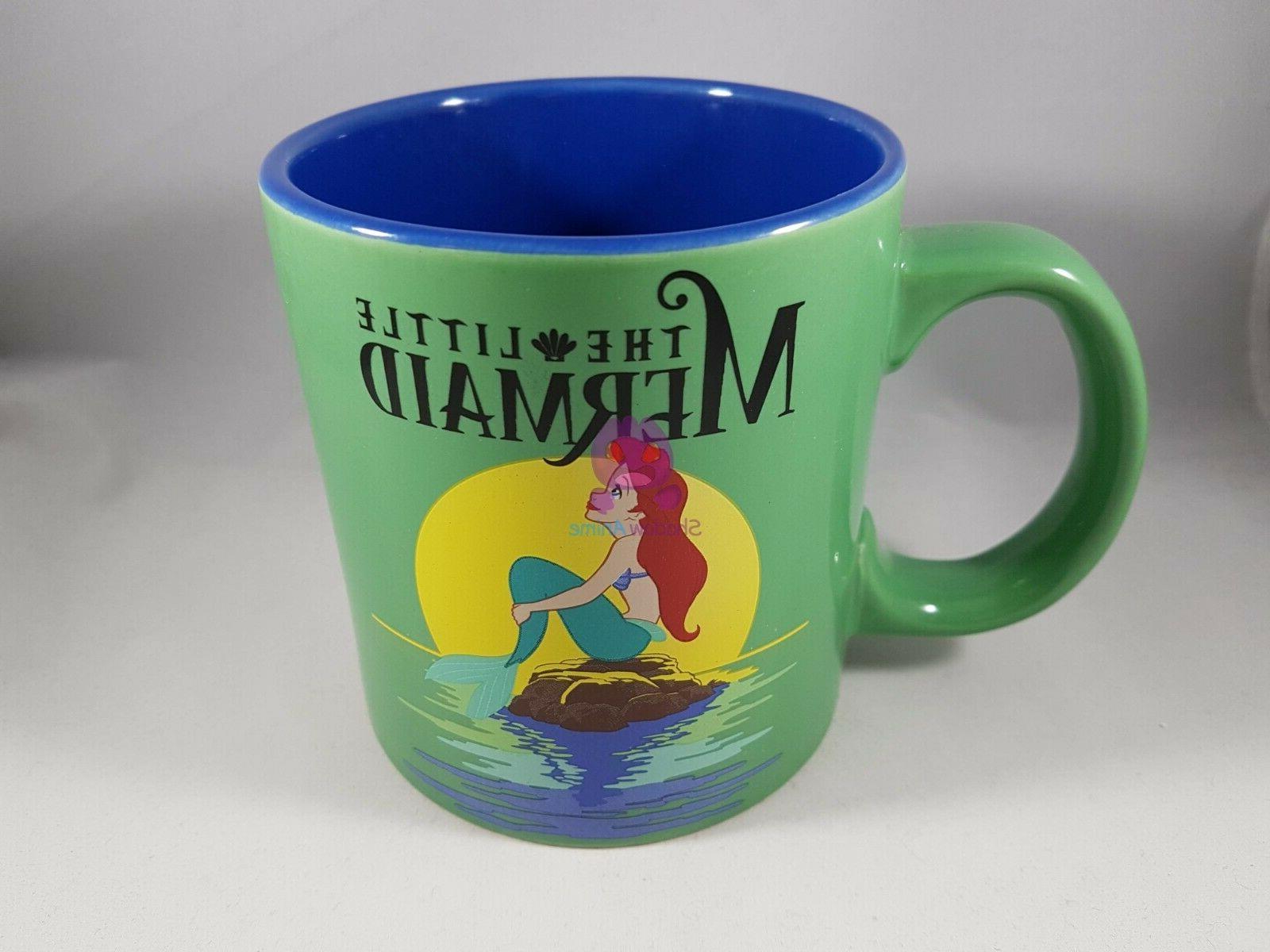 the little mermaid mug 20oz green blue